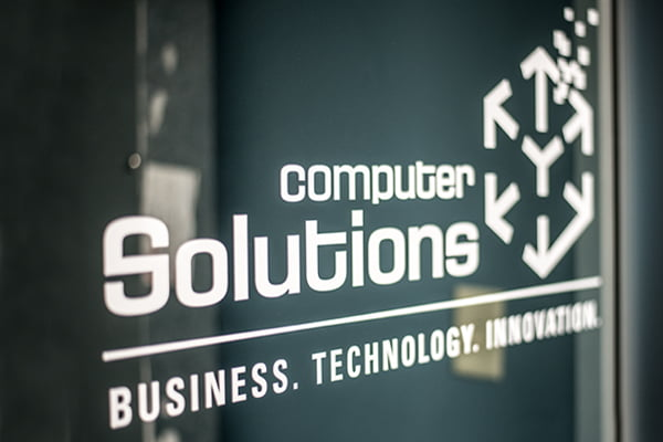 Computer Solutions Lab Entrance