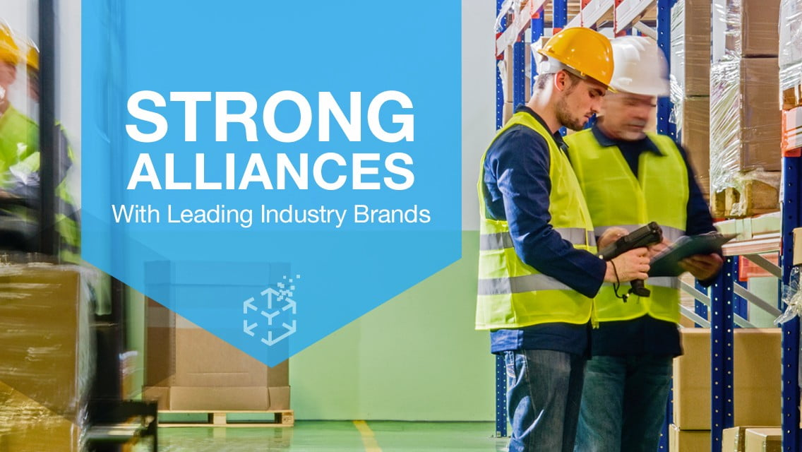 Strong Alliance with Industry Brands - Computer Solutions