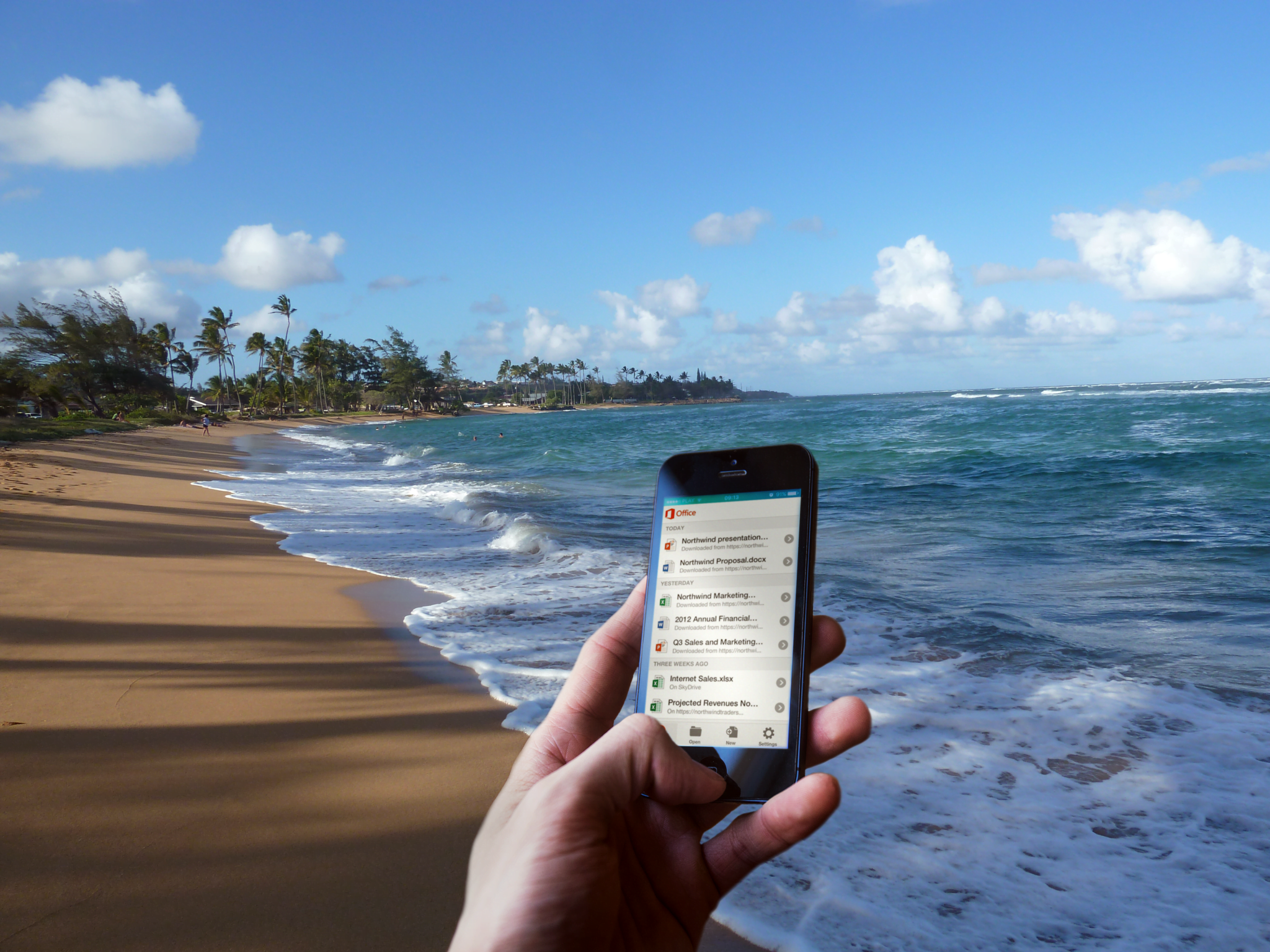 Using Office 365 on the Beach Computer Solutions