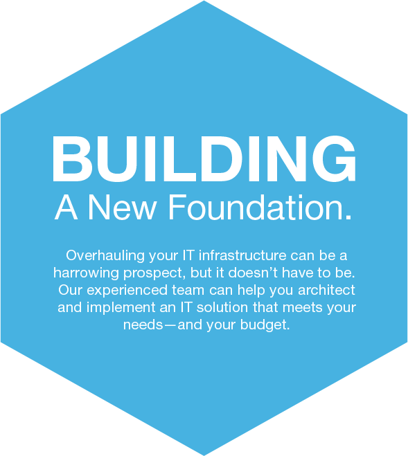 Biulding a new foundation