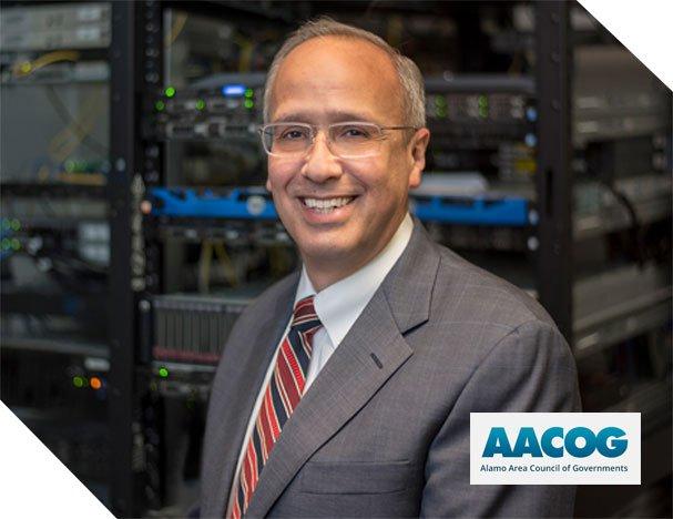 AACOG - man in fron of server
