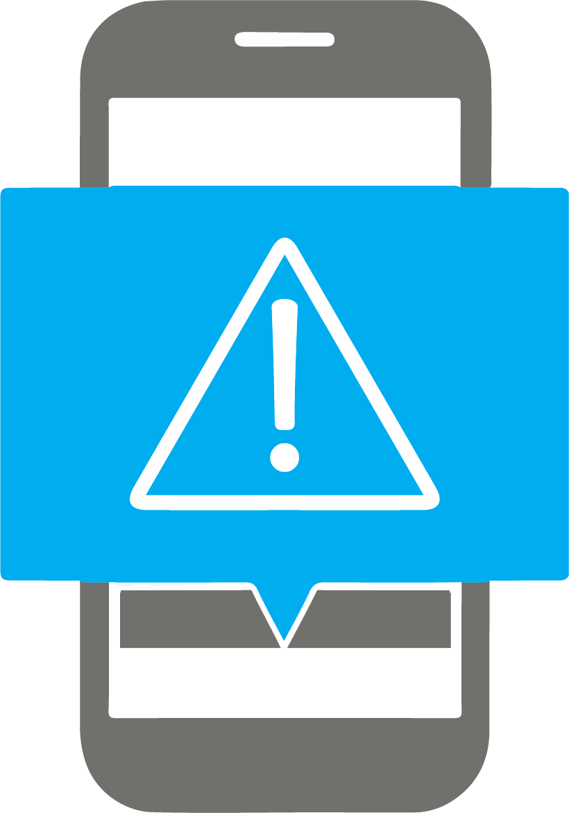emergency notifications icon