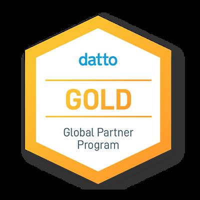 Datto Gold Partner Logo