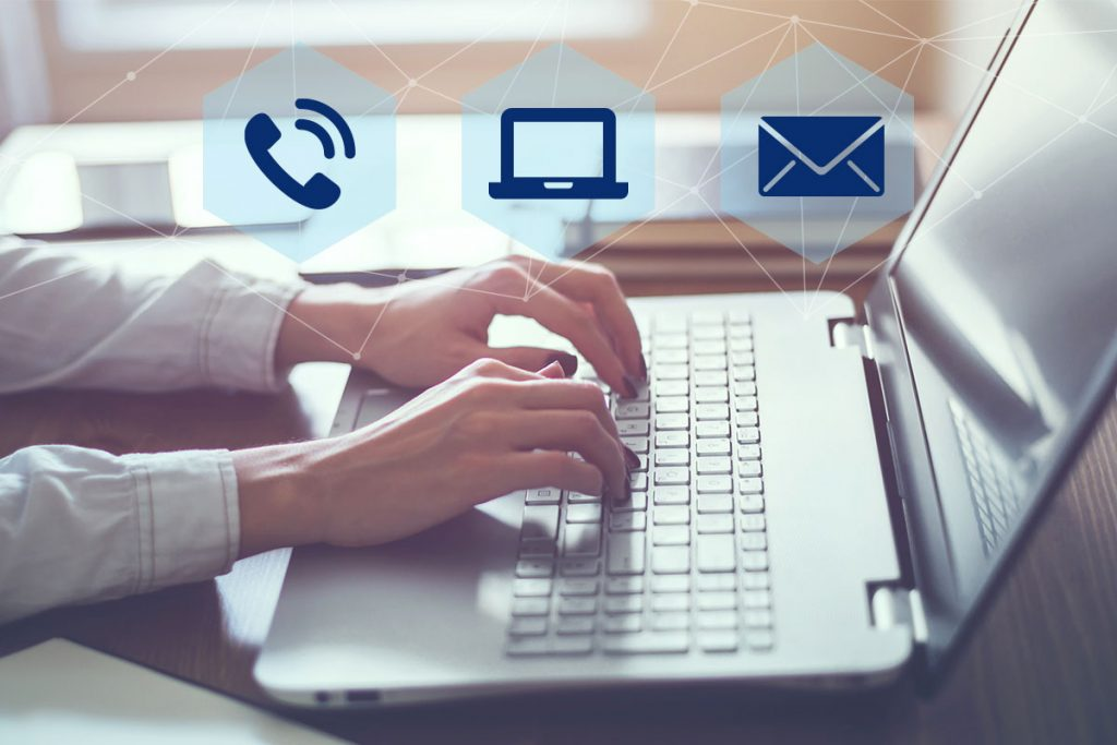remote worker using unified communications